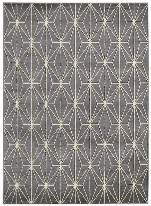 Margery Gray Area Rug