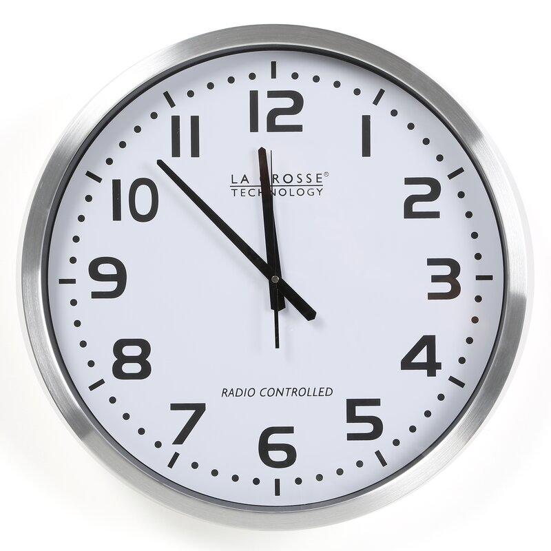 La Crosse Technology 20 Quot Atomic Analog Clock Amp Reviews