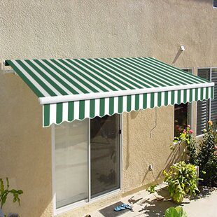 California Manual Retractable Patio Awning