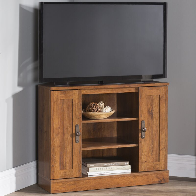 Alcott Hill Englewood Corner TV Stand for TVs up to 37\