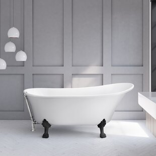 61 66 Inches Bathtubs You Ll Love Wayfair