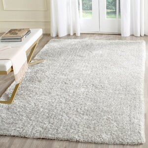 Aston Hand-Tufted Light Gray Area Rug