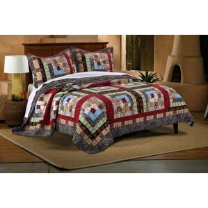 clarkshire reversible quilt set