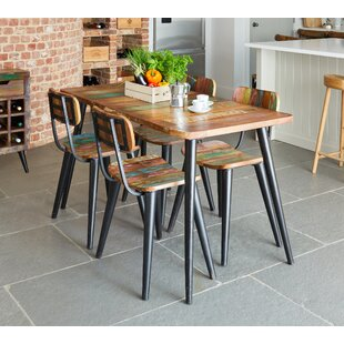 Holden Chic Dining Set With 6 Chairs