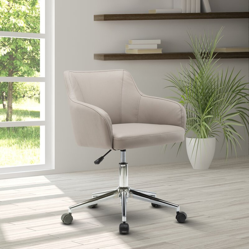 ebern designs vance comfy and classy home office mid back desk chair