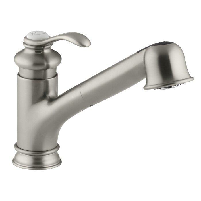 Kohler Fairfax Single Hole Or Three Hole Kitchen Sink Faucet With 9