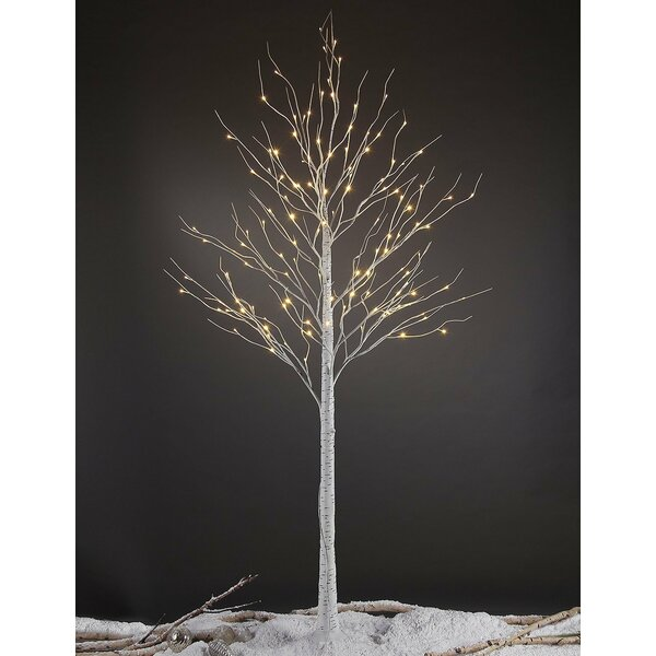Lightshare Led Pre Lit 132 Light Birch Tree Amp Reviews