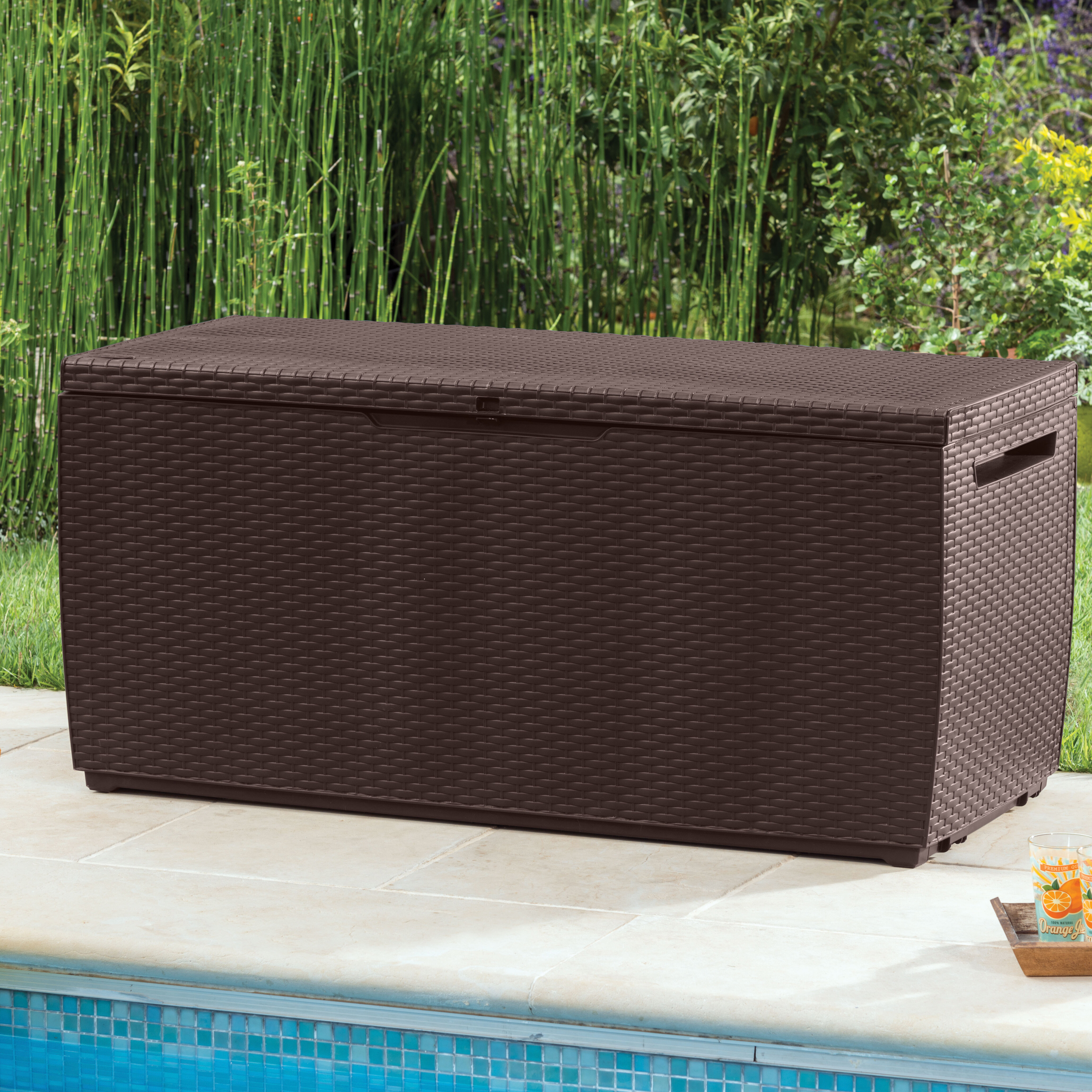 overstock bench home keter free gallon deck storage garden product shipping comfy box today resin