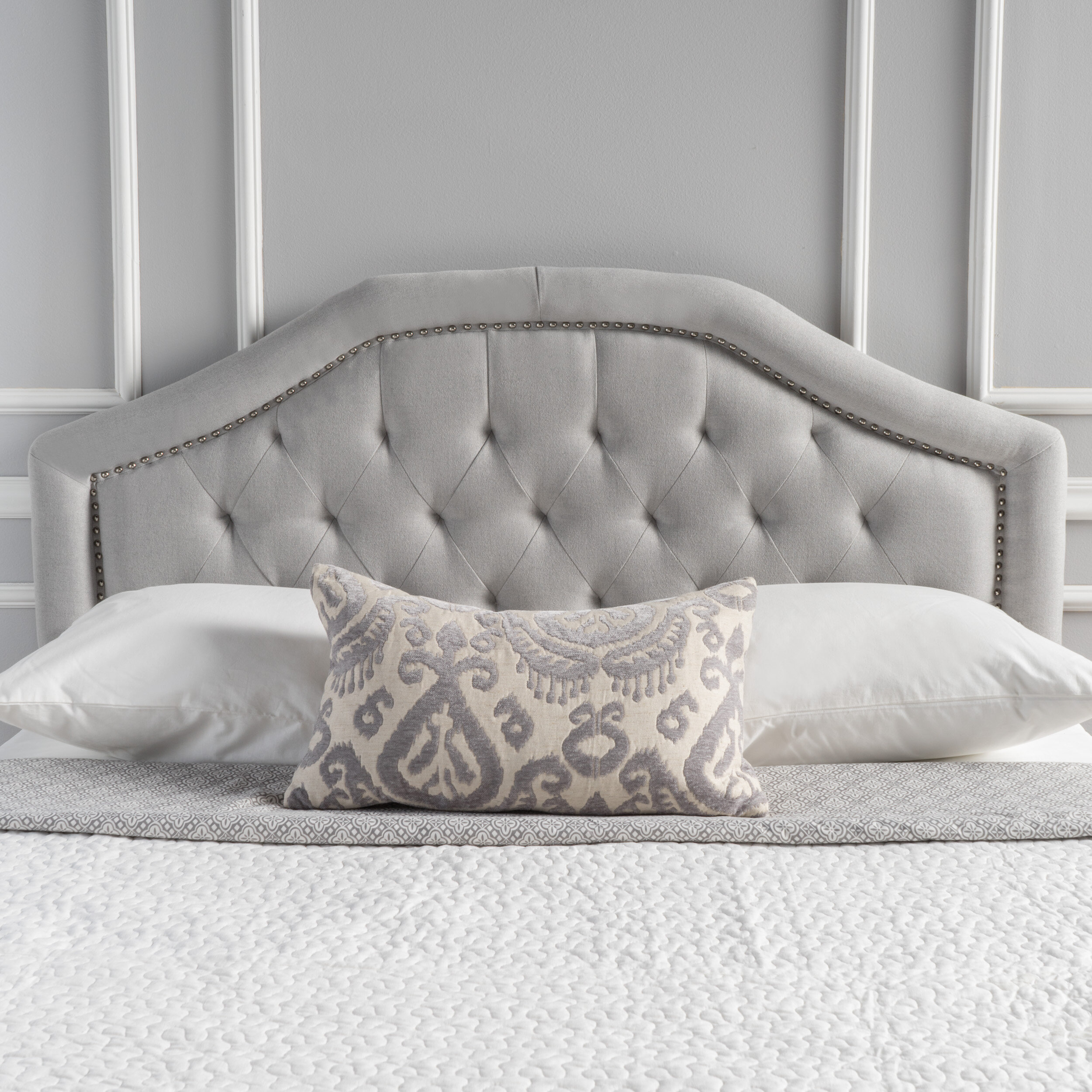 huggers lauramstein laura designer bedroom staine headboard project customer wall panels m headboards upholstered