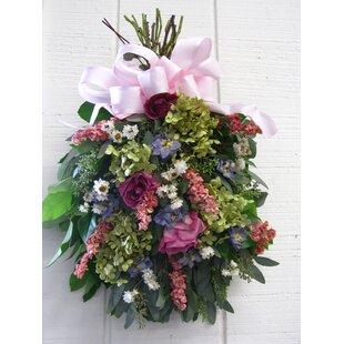 Silk floral swag wayfair spring floral swag mightylinksfo
