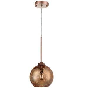 Birrell 1-Light Globe Pendant