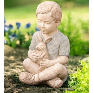 Little Boy Statue Wayfair