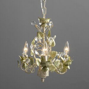 Chearsley 3-Light Candle-Style Chandelier