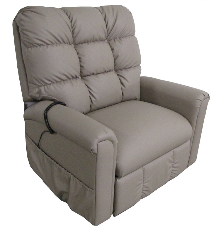 Petite Chair comfort chair company american series petite wide 3 position lift