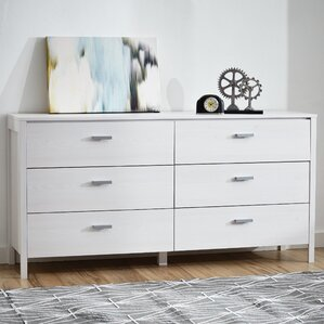 Lorraine 6 Drawer Double Dresser by Zipcode Design