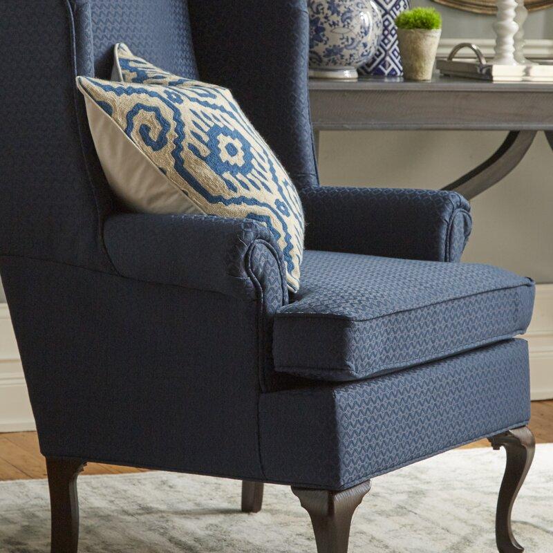 Three Posts Palmdale Wingback Chair Reviews Wayfair
