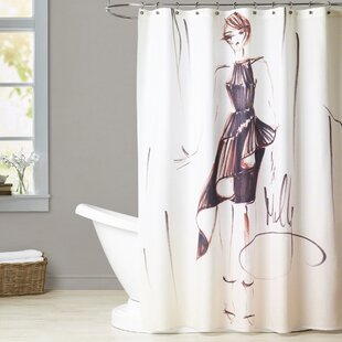 New Rockford Contemporary Frills Shower Curtain