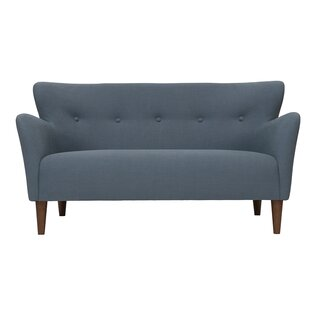 Peggy Curved Wingback Modern 2 Seater Sofa