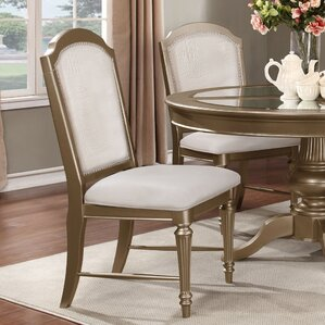 Ava Solid Wood Dining Chair (Set of 2) by..