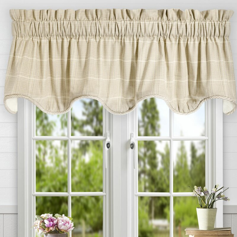 rod gray accent quatrefoil pocket medium trim french window and with mint carousel valance