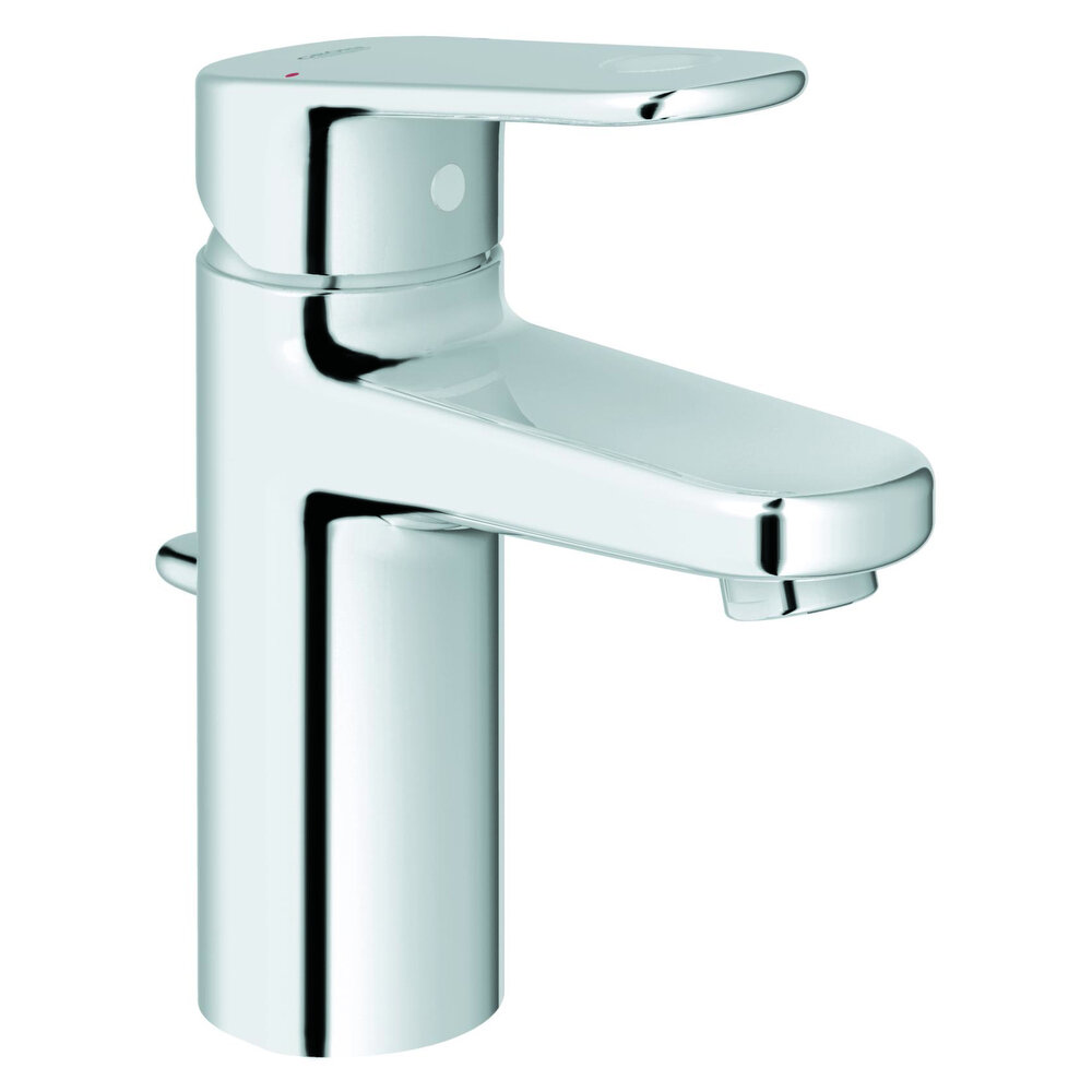 Grohe Europlus Centerset Single Hole Bathroom Faucet with Drain ...