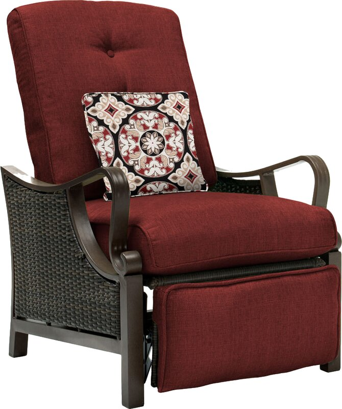 Three Posts Sherwood Luxury Recliner Chair with Cushions Reviews