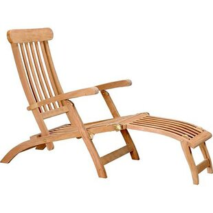 Wonderful Teak Steamer Lounge Chair