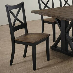 Landrum Solid Wood Dining Chair by Simmon..