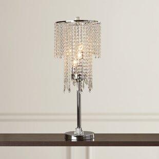 Chrome novelty table lamps youll love wayfair jayne 315 table lamp aloadofball Choice Image