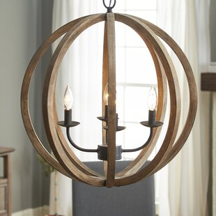 Farmhouse or country chandelier youll love stanton 4 light candle style chandelier aloadofball Gallery
