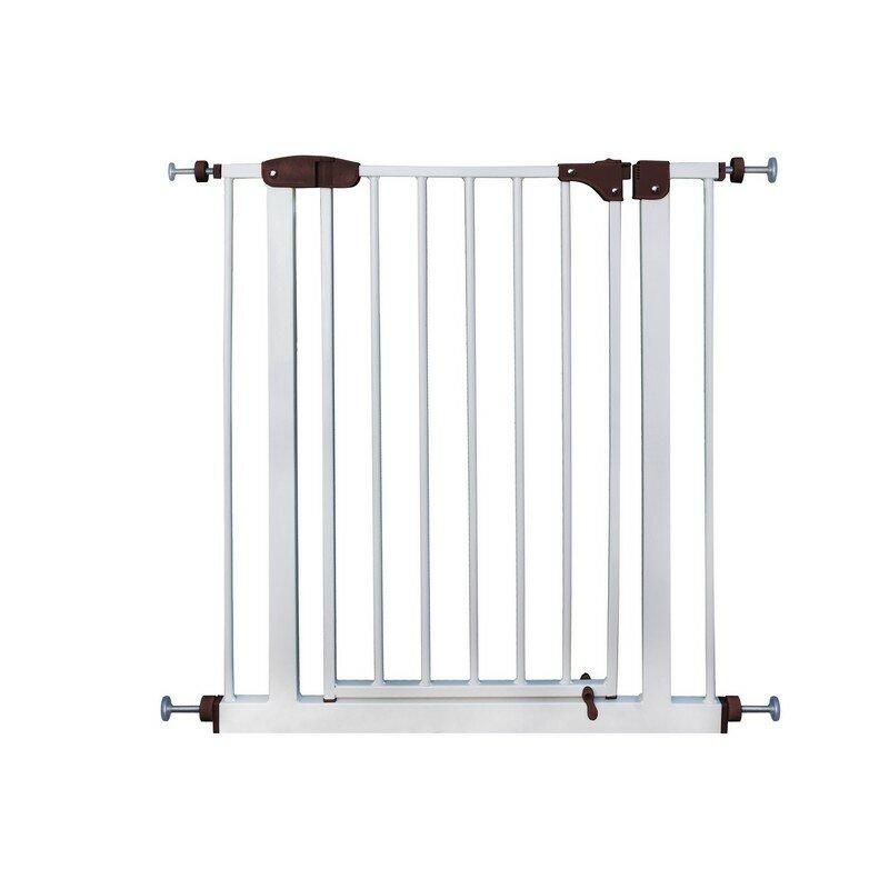 Aleko Easy Close Metal Walk Through Safety Gate Wayfair