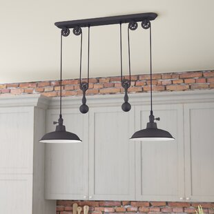 Light Kitchen Island Pendants Youll Love Wayfair - Unique kitchen ceiling light fixtures