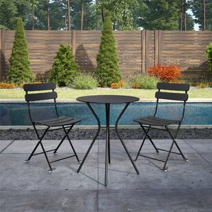 Patio Furniture Iron Black.Black Patio Dining Sets You Ll Love In 2019 Wayfair