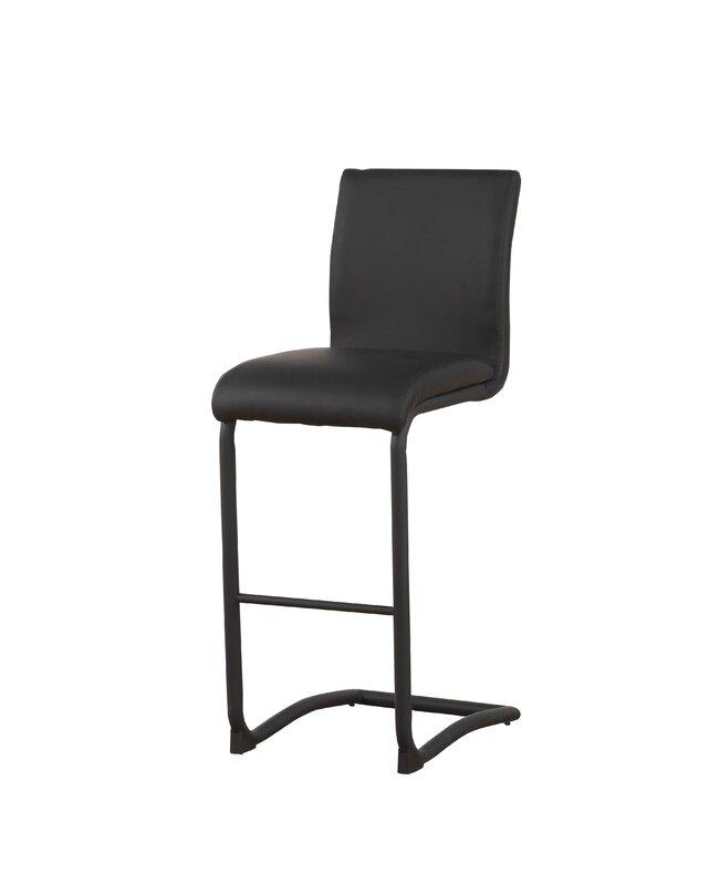 Len Modern orren ellis len modern counter height upholstered dining chair