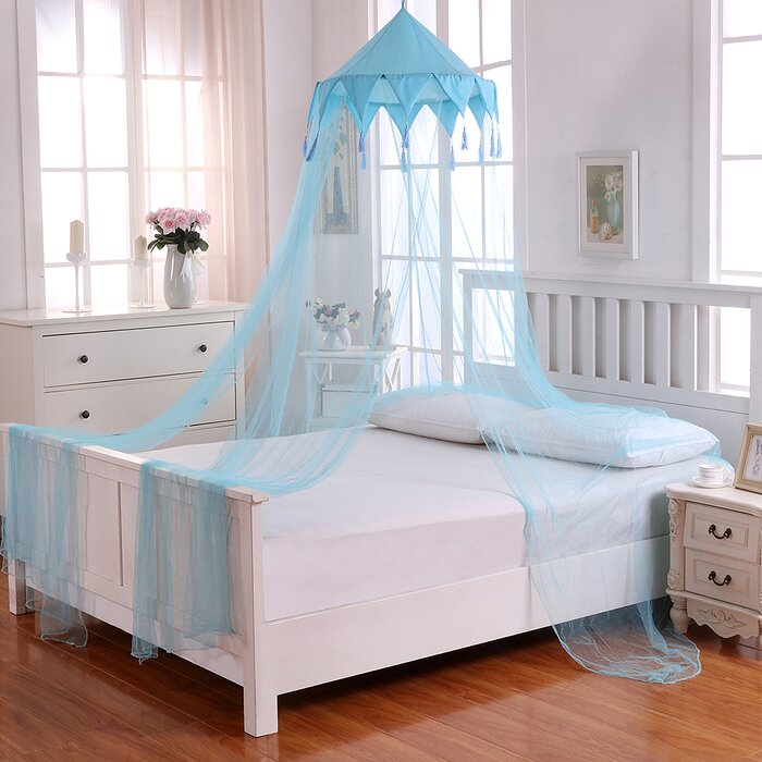 Harlequin Kids Collapsible Hoop Sheer Bed Canopy