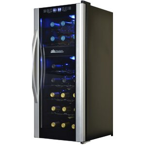 21 Bottle Dual Zone Freestanding Wine Cooler by Avalon Bay