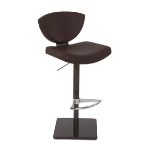 Volans Adjustable Swivel Bar Stool by Orren Ellis