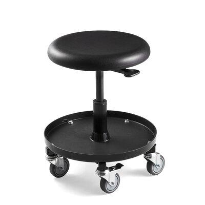 Adjustable Stool On Wheels Wayfair