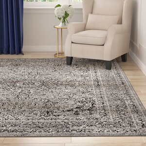 Murphysboro Gray Indoor/Outdoor Area Rug
