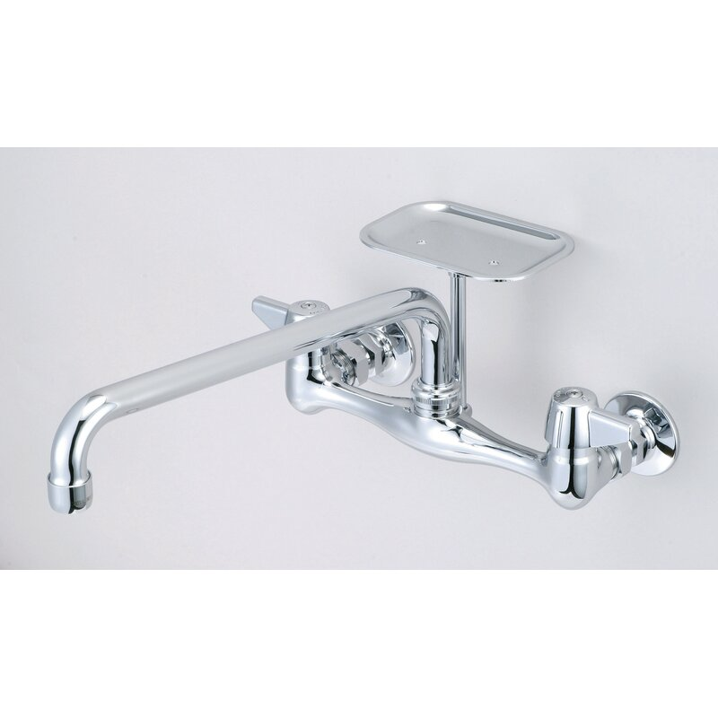 Central Brass Wall Mount Faucet with 8\