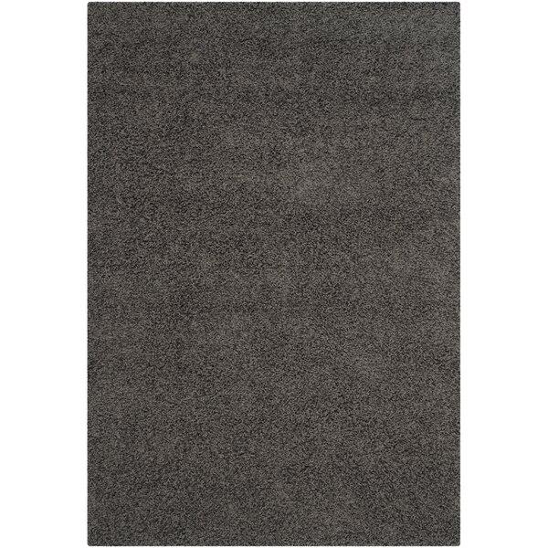 Charming Zipcode Design Kourtney Dark Grey Area Rug U0026 Reviews | Wayfair