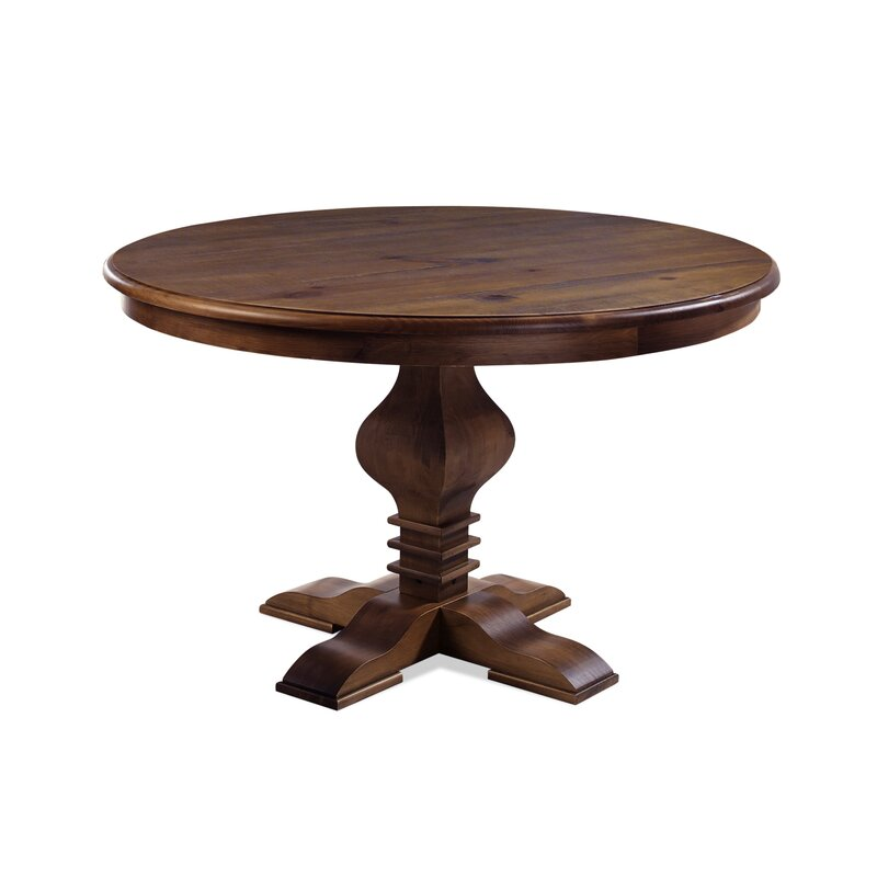 Round Table Elk Grove Ca.Tate Solid Wood Dining Table