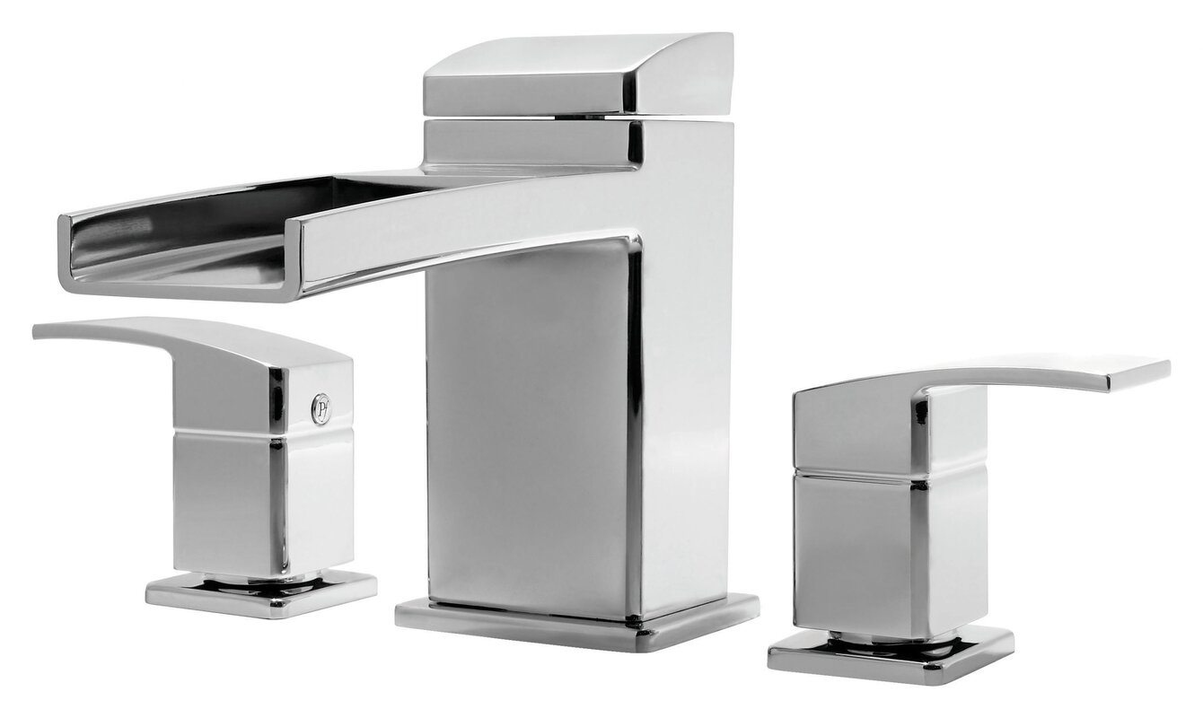 Pfister Kenzo Two Handle Deck Mount Roman Tub Faucet Trim & Reviews ...