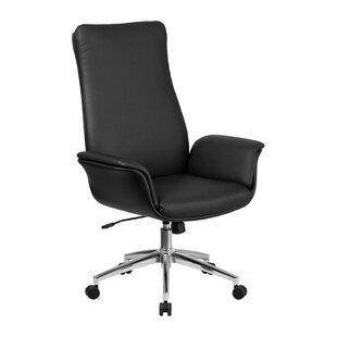 High Back Swivel Chair   Wayfair