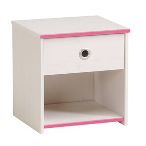 Ginger 1 Drawer Nightstand by Harriet Bee