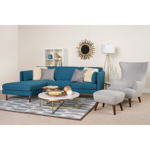 Shelburne 6 Piece Living Room Set With High Back Chair