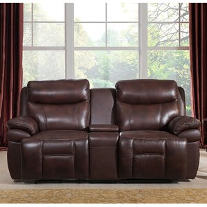 Sanford Reclining Loveseat by Amax
