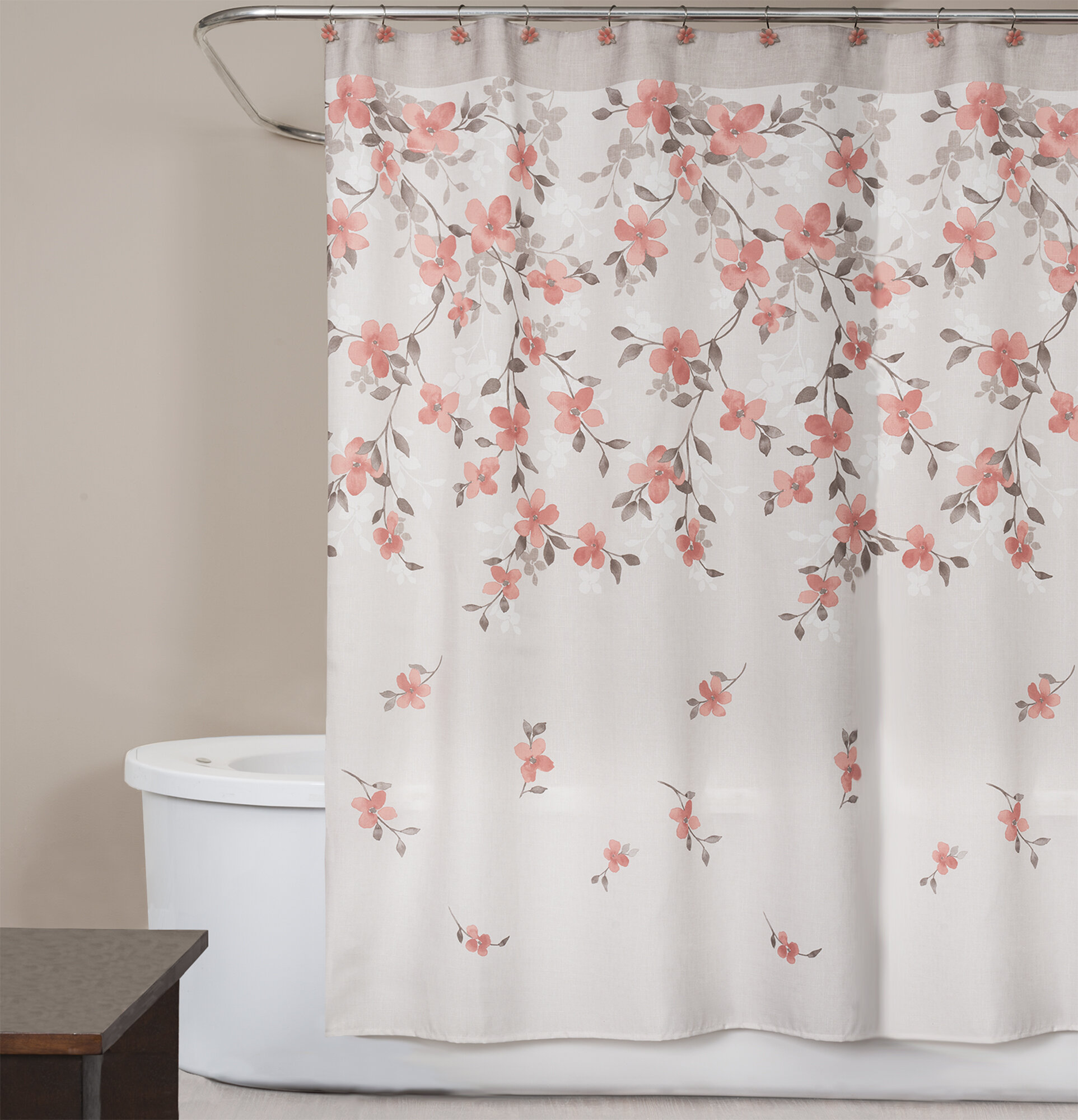 Saturday Knight Coral Garden Shower Curtain Reviews