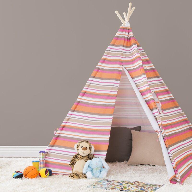 Indoor/Outdoor Kids Teepee Playhouse