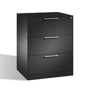 Aktenschrank C 3000 Asisto mit 3 Schubladen von C + P